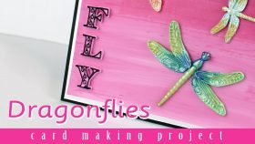 Dragonflies Card Making Project