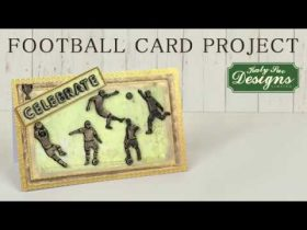 Football Card Project For Birthdays & Celebrations
