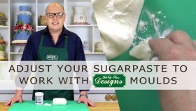 How To Adjust Sugarpaste Or Fondant To Work With Our Moulds