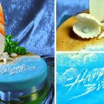 How to Decorate a Simple Beach & Surf Cake