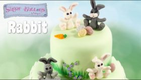 How to make an adorable Rabbit with Fondant/Sugar Paste