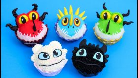 How To Train Your DRAGON CUPCAKES by Cakes StepbyStep