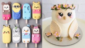 The Most Satisfying Cake decorating Video! Most Oddly Satisfying Videos - Awesome Cookies