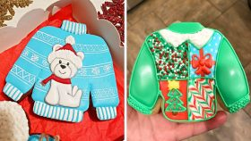 23 Yummy Cookies Decorating Ideas for New Year Party | So Yummy Cookie Recipes (Jan) #4