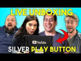 LIVE UNBOXING! Silver Play Button Reward!