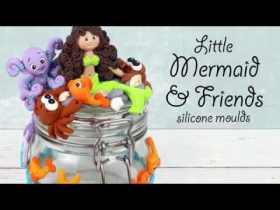 Little Mermaid & Friends Characters For Crafts   Full Tutorial With Kathryn Sturrock