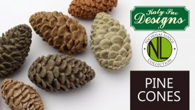 Make 3D Pine Cones for cakes with the Chef Nicholas Lodge Collection