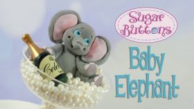 Make A Baby Elephant For Cakes With This Mould