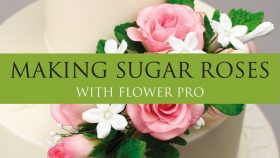 Make Perfect Sugar Roses Easy with Flower Pro Mould & Veiners