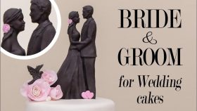 Make The Perfect Bride & Groom For Wedding Cakes