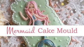 Mermaid Cake Decorating Tutorial   Seaside Mould Collection