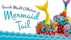 Mermaid Tail Cake Decorating Tutorial   Seaside Mould Collection
