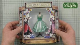 Mini Mannequin Paper Fashions Card Making Project