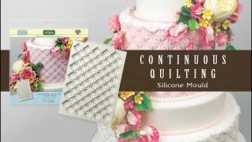 EASY Tutorial Using the Creative Cake System Continuous Quilting Cake Decorating Moulds
