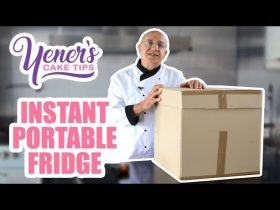 How to Make An INSTANT PORTABLE FRIDGE for Cake Deliveries | Yeners Cake Tips | Yeners Way