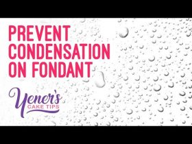 How to PREVENT CONDENSATION on Fondant Coated Cakes | Yeners Cake Tips with Serdar Yener