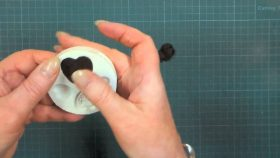 Papercrafts embellishments with Molds