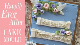 Happily Ever After Cake Decorating Mould | For Wedding, Anniversary & Engagement Cakes