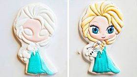 How To Decorate Princess Cookies Ideas   Easy Cookies Decorating Ideas In The World