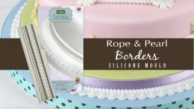 Rope & Pearl Borders Cake Decorating Tutorial with Ceri Griffiths