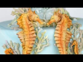 Seahorses Cake Decorating Tutorial | Seaside Mould Collection