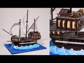 Simple 3D Galleon Ship Cake   Introduction