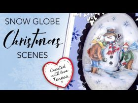 Snow Globe Christmas Scenes For Card Making & Papercrafting