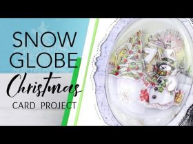 Snow Globes Scenes Card Making Project
