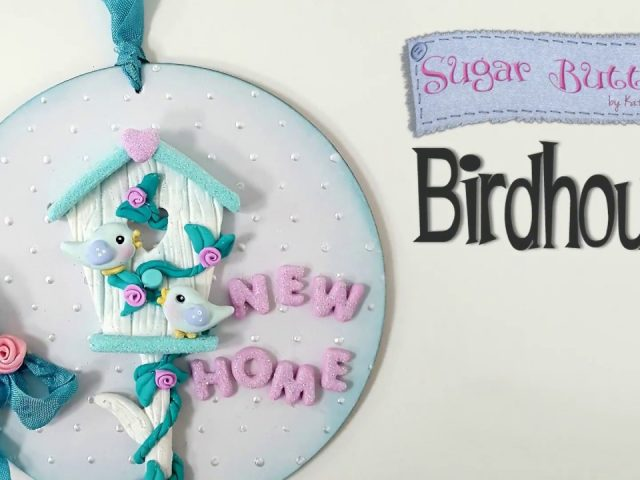 Sugar Buttons Birdhouse with Kathryn Sturrock