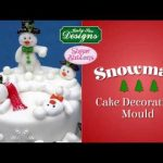 Sugar Buttons Snowman Cake Decorating Mould