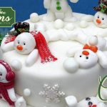 Sugar Buttons Snowman Mould for Cake Decorating