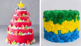 8 Cute Cake Decorating Design Ideas For Party | Yummy Chocolate Cake Recipes