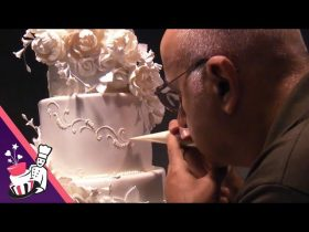 The Making Of Maria & Theo's 6 Tier Wedding Cake