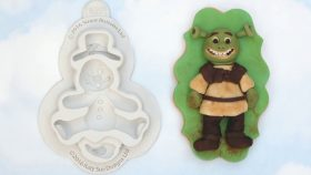 Turn Your Snowman Into Shrek To Decorate Cakes & Cookies