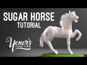 How to Make a SUGAR HORSE Tutorial | Yeners Cake Tips with Serdar Yener from Yeners Way