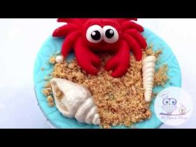 Make Under The Sea Style Cakes with our Crab and Fish Cake Decorating Mould