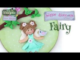 Using the Sugar Buttons Fairy Mould with Air Dry Clay
