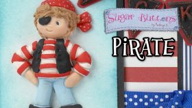 Using the Sugar Buttons Pirate with Air Dry Clay