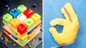 Rubik's Cakes are Very Creative and Tasty   12+ Quick & Easy Chocolate Cake Recipe For Family
