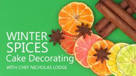 Winter Spices Cake Decorating Tutorial With Chef Nicholas Lodge