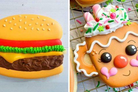 10 Cute Cookies Decorating Design Ideas For Party   So Yummy Chocolate Cookies Recipes