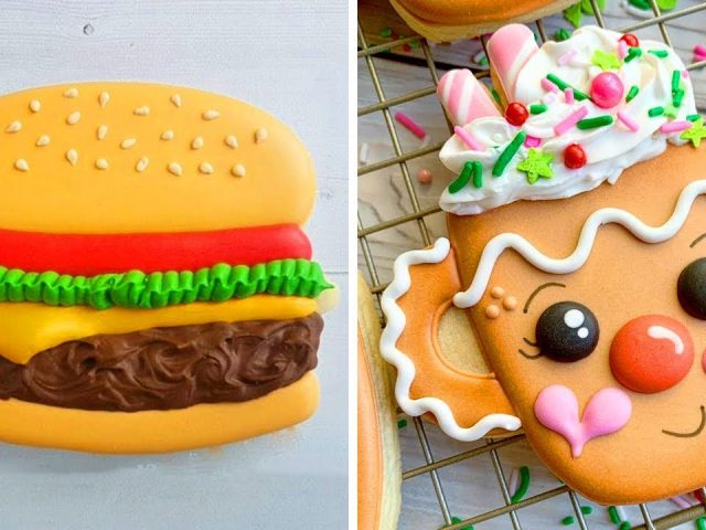 10 Cute Cookies Decorating Design Ideas For Party | So Yummy Chocolate Cookies Recipes