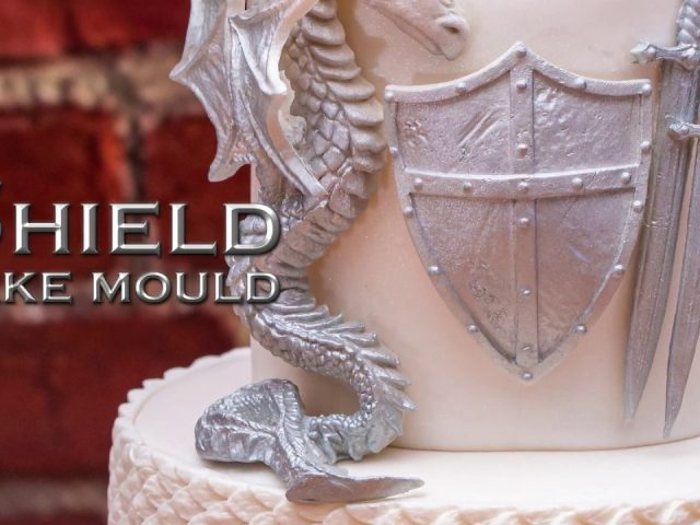 Shield Cake Decorating Mould