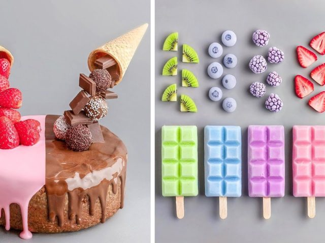 10 Fancy Chocolate Cake Hacks That Will Blow Your Mind | My Favorite Cake Decorating Videos
