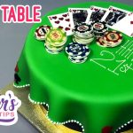POKER TABLE CAKE Tutorial | Yeners Cake Tips with Serdar Yener from Yeners Way