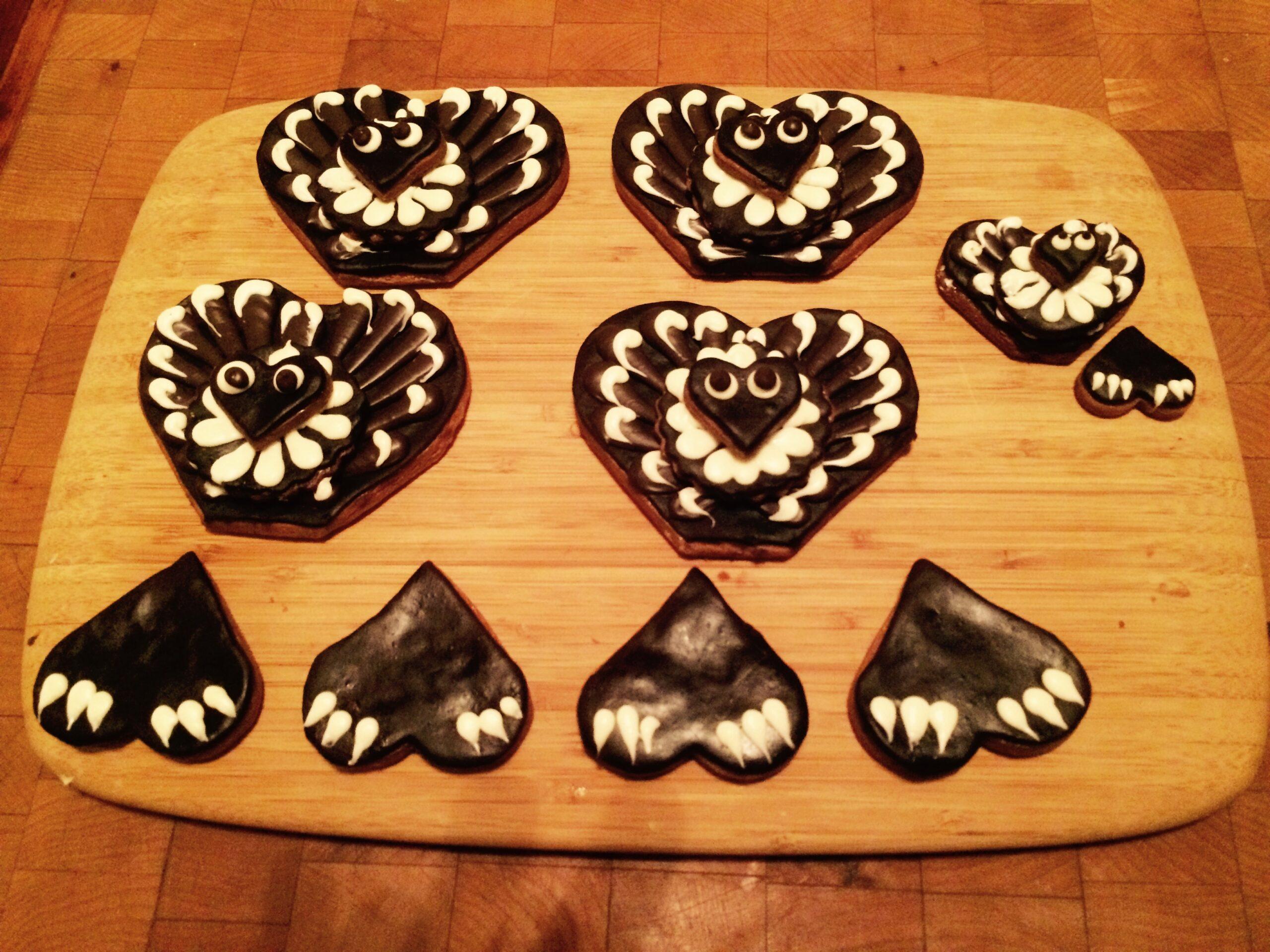 turkey cookie parts