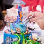 Christmas Cake Recipes – Stollen Wreath Cake Bun